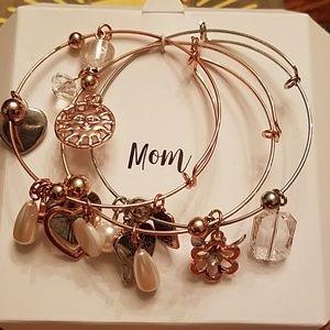 Jewelry - 3 charm braclets
